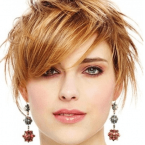 Hairstyles for Short Haired Girl