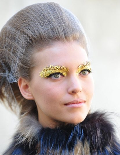 Halloween Hairstyle with Net