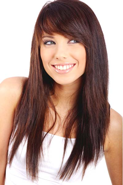 Long Hair with Bangs hairstyle