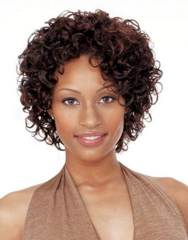 Short Tight Curly Hairstyle