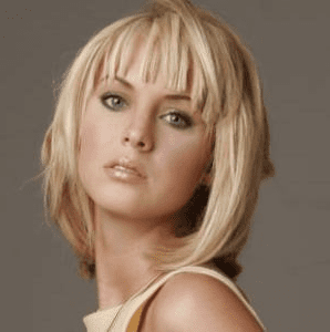 Short hairstyle for square face