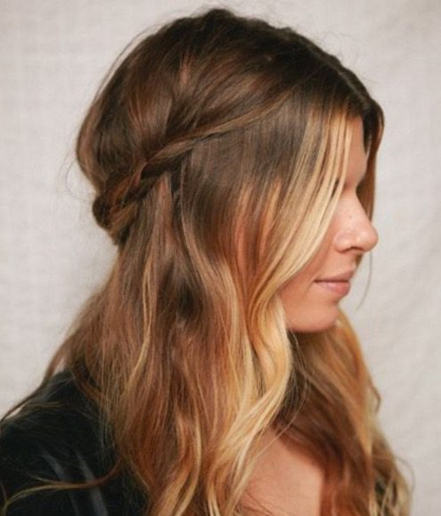 Christmas Hairstyle Braid Soft