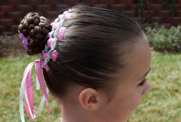 Spring Easter Kids Hairstyle