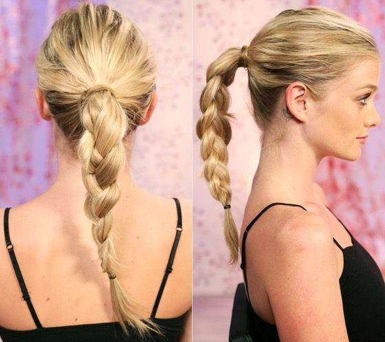summer braid hairstyle