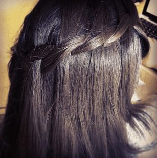 Two Strand Waterfall Braid