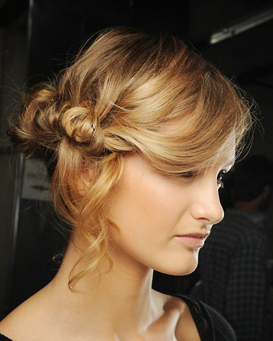 Quick Updo Hairstyles For Medium Length Hair Pictures