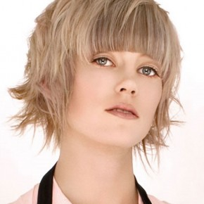Short Hairstyles 2013 For Round Faces