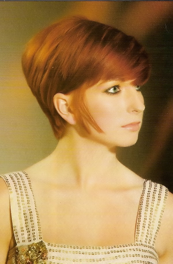 Pictures Of Short Hairstyles Dorothy Hamil Wedge