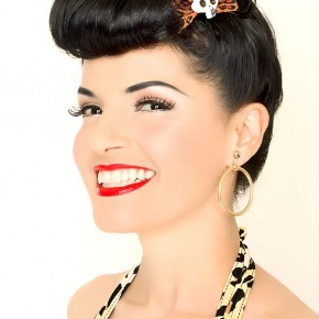 Short Hairstyles Pin Up