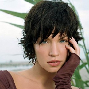 Short Hairstyles Short Bangs