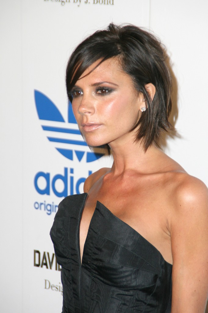 Pictures of Short Hairstyles Victoria Beckham Bob