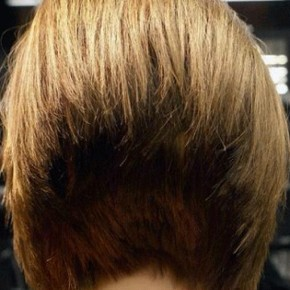 Short Hairstyles View From The Back