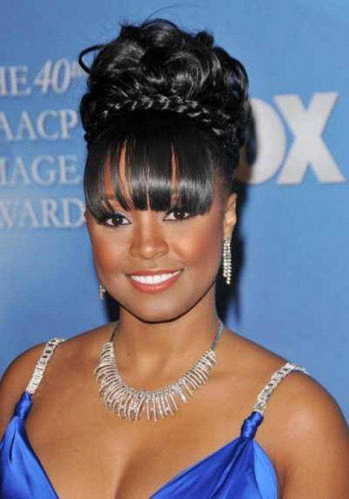 Pictures Of Updo Hairstyles Black Girls