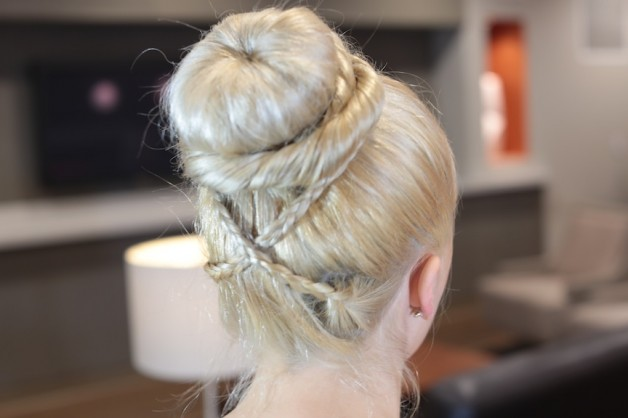 Updo Hairstyles Donut