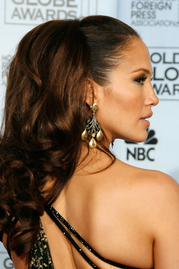 Updo Hairstyles Jennifer Lopez Pictures