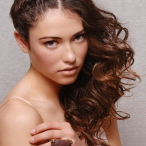 Updo Hairstyles Loose Curls