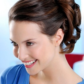 Updo Hairstyles No Bangs