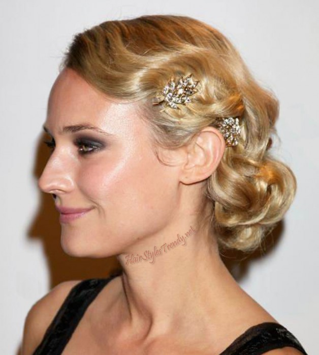 Updo Hairstyles On Celebrities