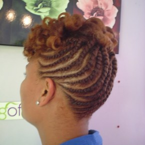Updo Hairstyles On Natural Hair