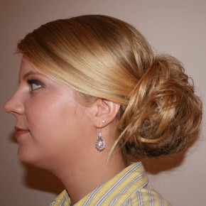 Updo Hairstyles On The Side