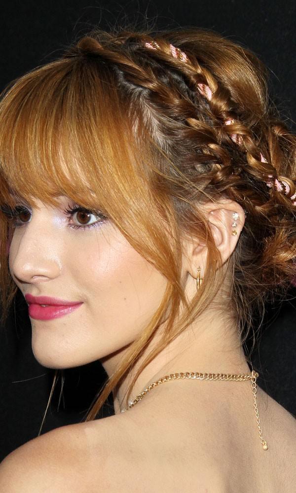 Updo Hairstyles Plaits