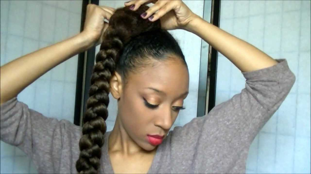 Pictures Of Updo Hairstyles With Kanekalon Hair
