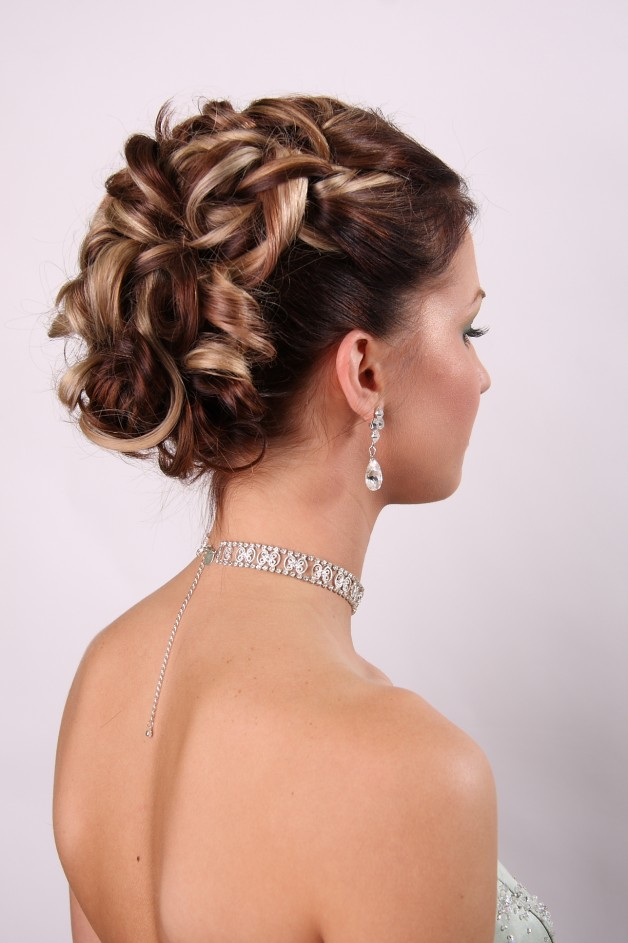 Updo Hairstyles With Veil