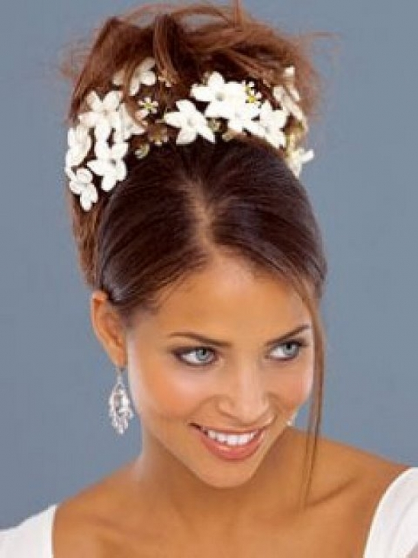 Wedding Hairstyles African American Women Pictures