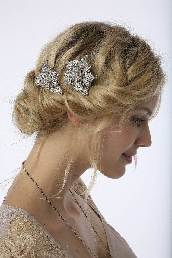 Pictures Of Wedding Hairstyles Buns - Wedding hairstyle buns
