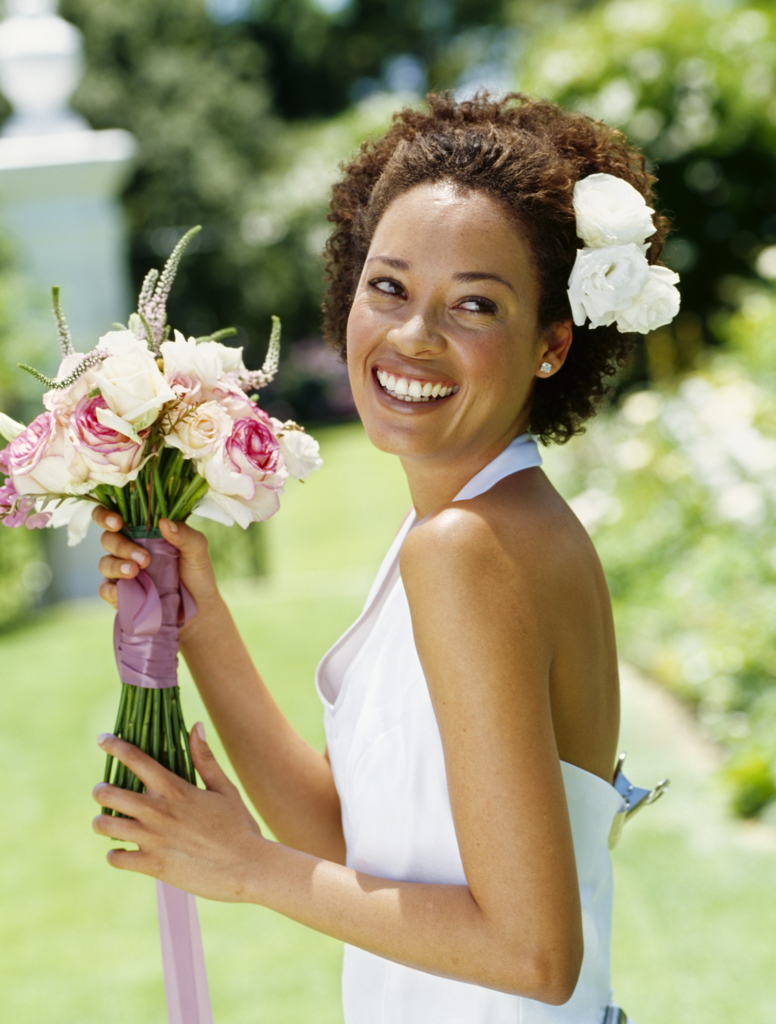 Pictures of Wedding Hairstyles Curly Hair