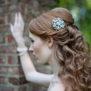 Wedding Hairstyles Curly Half Up