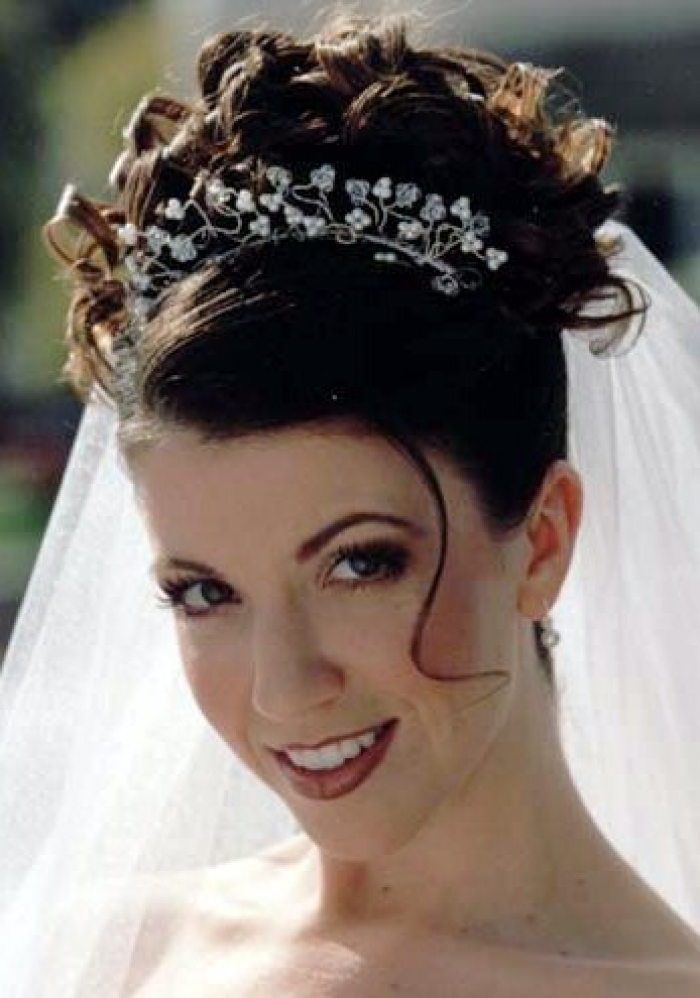 Wedding Hairstyles Long Curly Hair Pictures