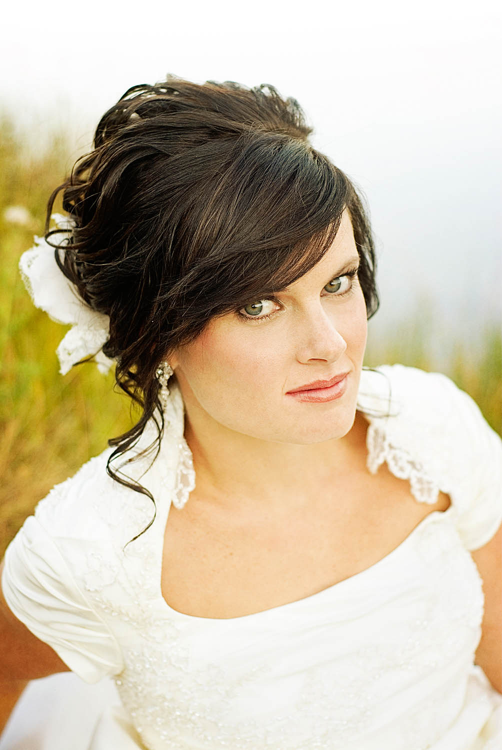 Pictures Of Wedding Hairstyles Long Straight Hair - Wedding hairstyle straight
