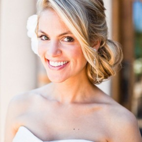 Wedding Hairstyles Messy Side Bun