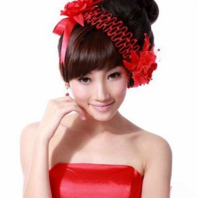 Wedding Hairstyles Red Hair