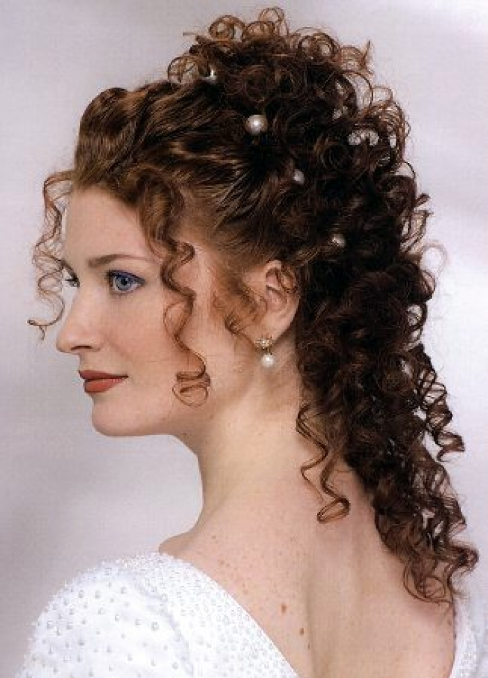 Hairstyles For Curly Hair For Wedding : Pictures of wedding hairstyles updos for black women