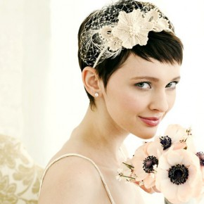 Wedding Hairstyles Very Short Hair