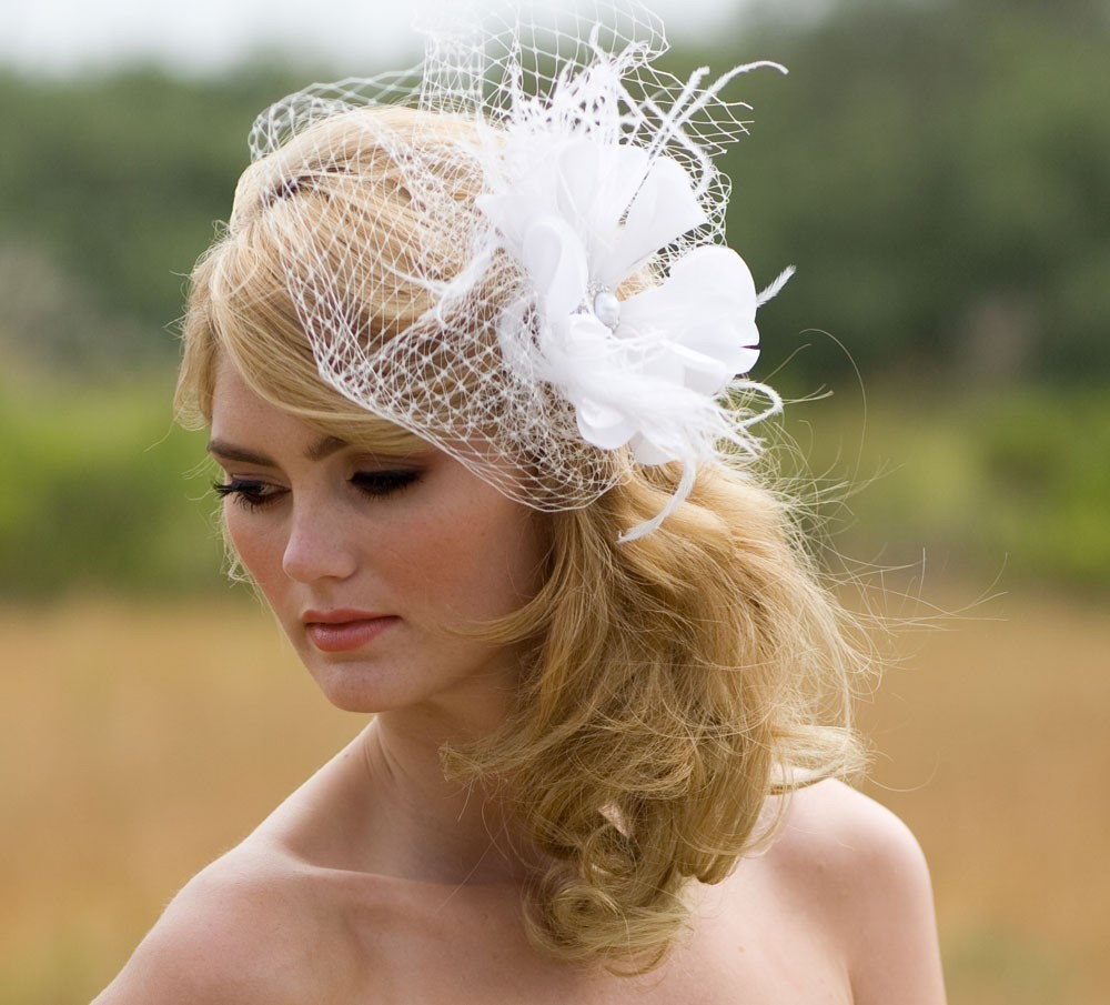 Wedding Hairstyles With Fascinators