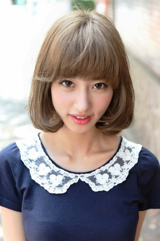 2013 Cute Japanese Bob Hairstyle For Women Behairstyles Com