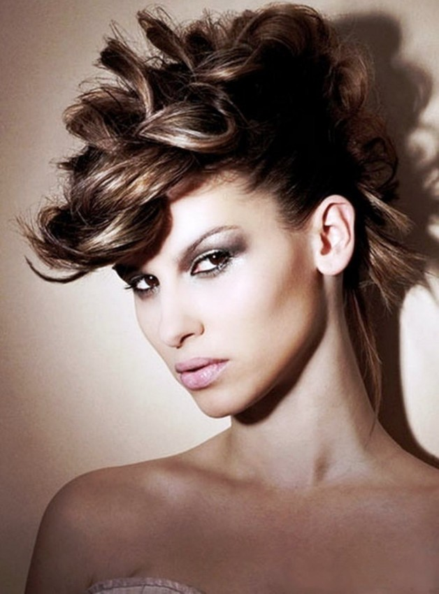 combed hairstyles : 2013 Long Hairstyles For Cocktail Party Behairstyles.com