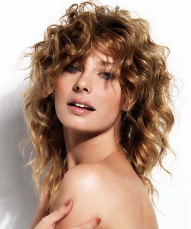 2013 Medium Curly Hairstyles For Women