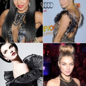 2013 Party Hairstyles For Long Black Hair
