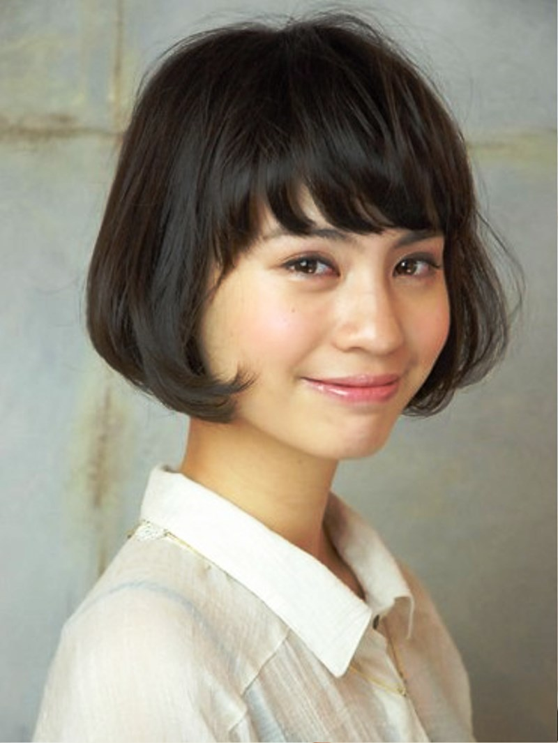 Amazing Pictures Of 2013 Short Cute Bob Hairstyle Hairstyles For Women Draintrainus