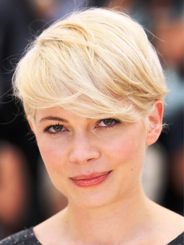 2013 Short Hairstyles For Round Faces