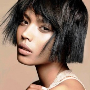 2013 Simple Medium Hairstyles Black