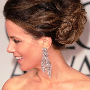 2013 Wedding Hairstyles Kate Beckinsale Updo