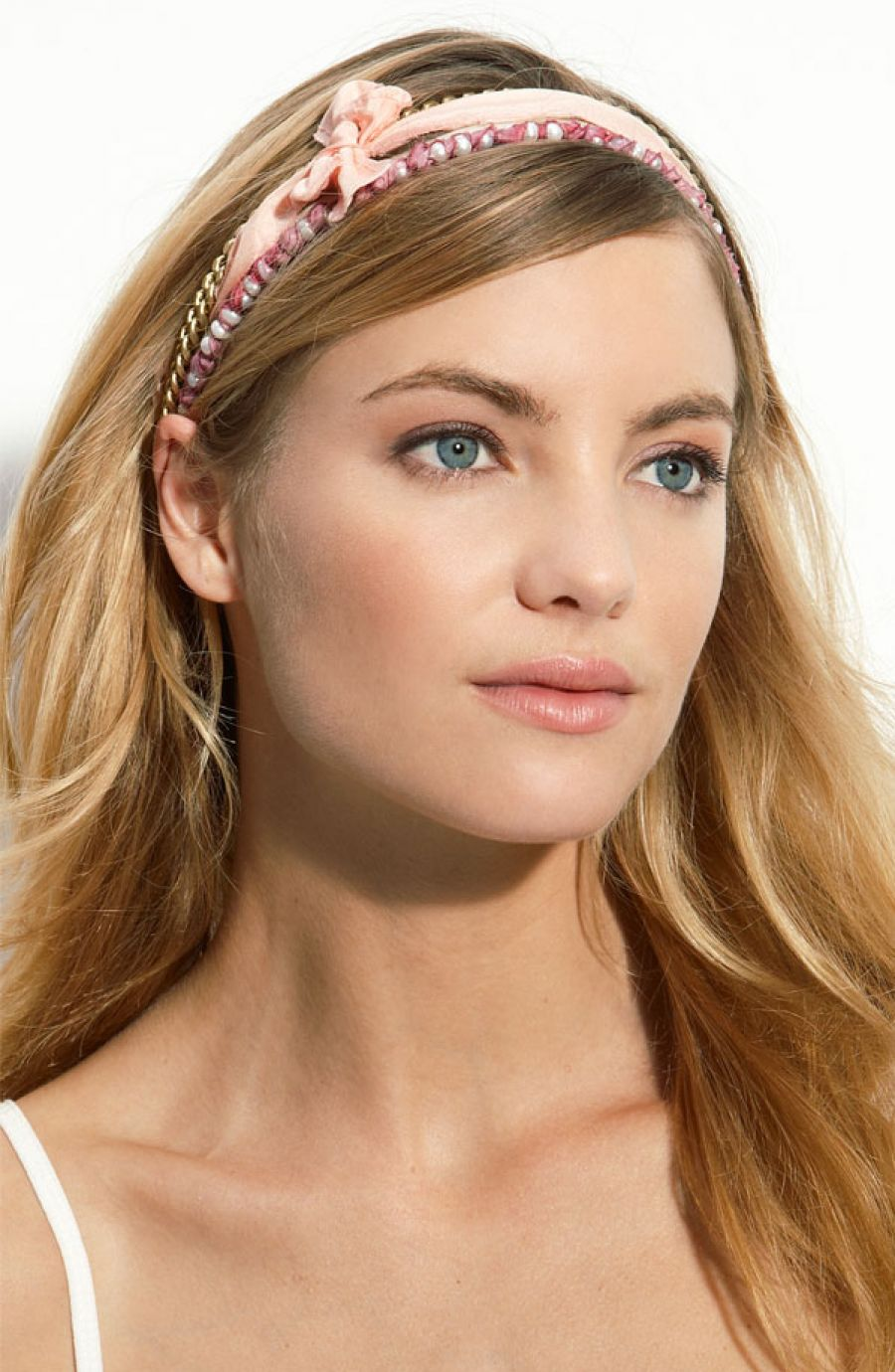 Pictures Of 70s Long Hair Headband