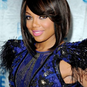 African American Black Bob Hairstyle
