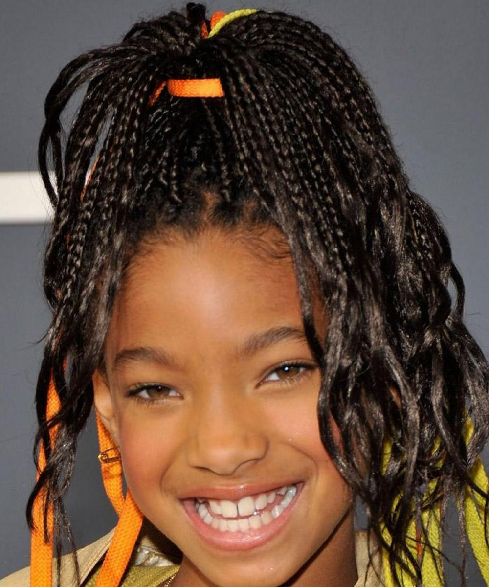 Pictures of African American Braid Hairstyles for Girls