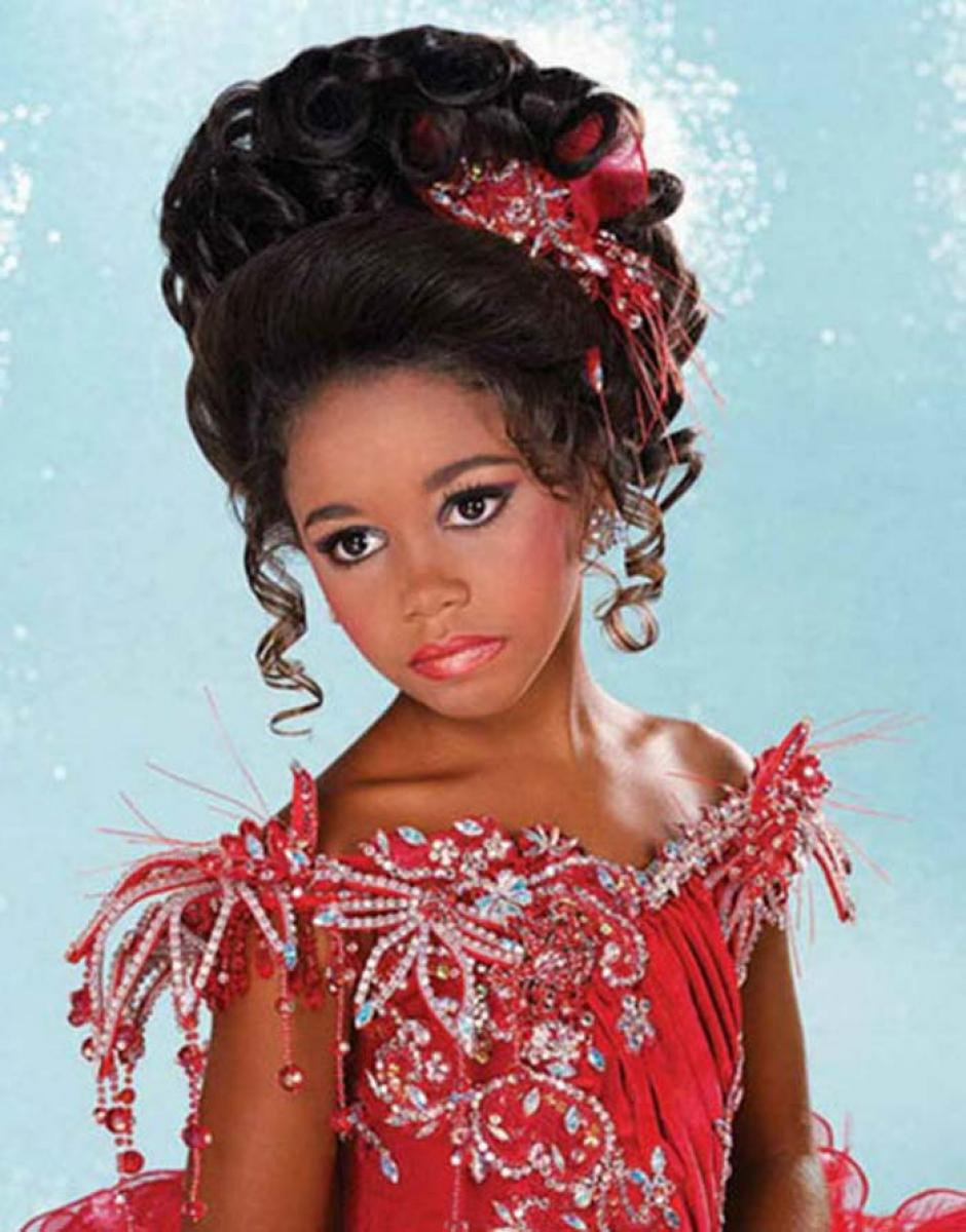 Pictures Of African American Kids Hairstyles For Weddings